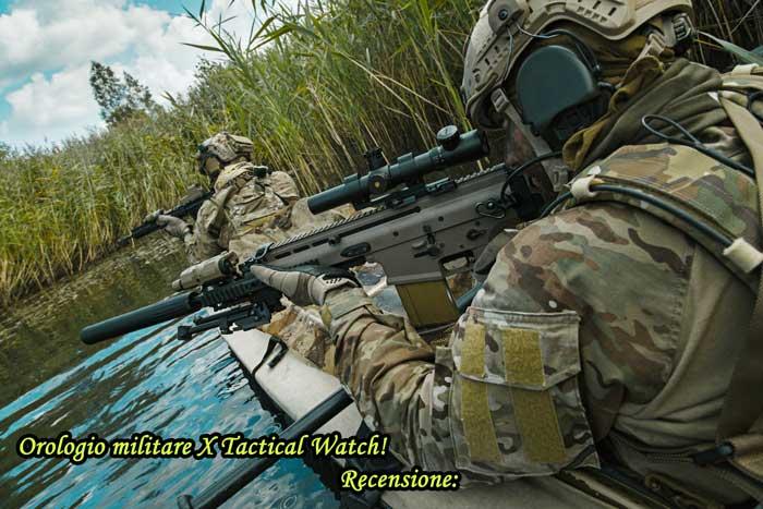 Orologio tattico X Tactical Watch recensione