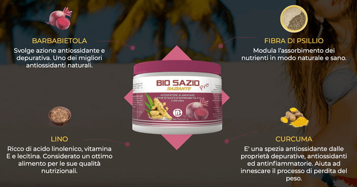 Biosazio Ingredienti