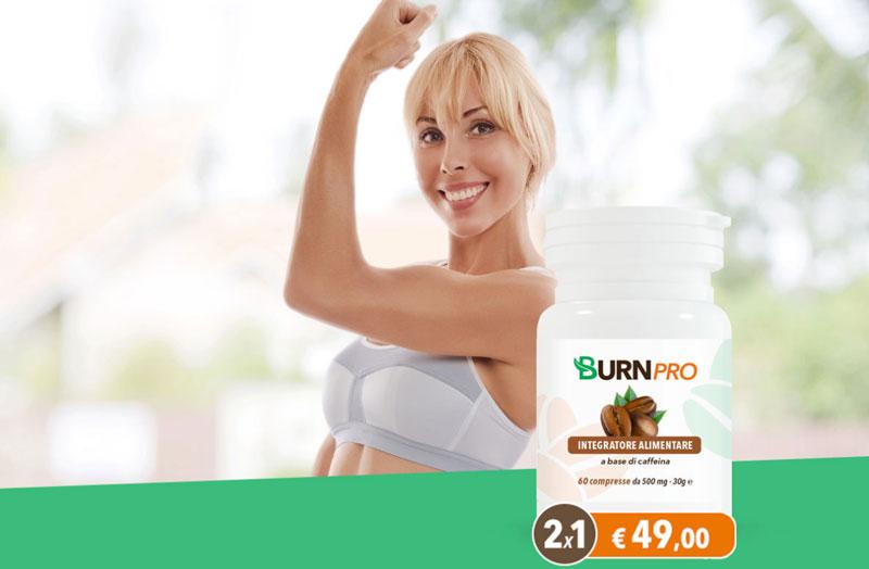 Integratore per dimagrire Burn Pro