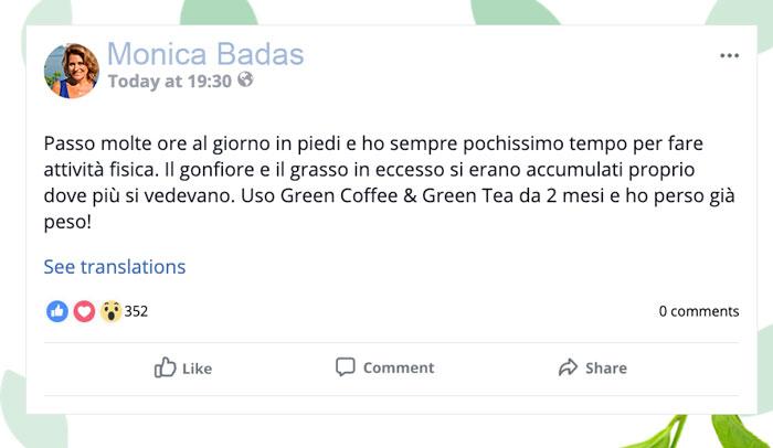 Opinioni su Green Coffee e Green tea Plus
