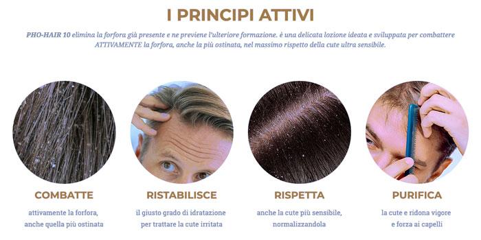 Pro hair 10 per la forfora