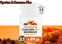 Dimagrante naturale Piperina e Curcuma Plus