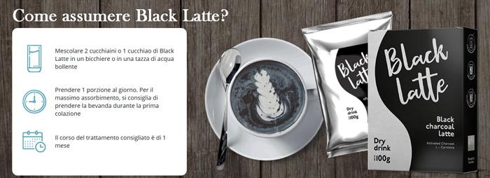 Come si usa Black Latte