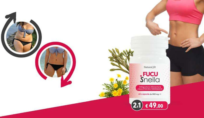 Fucusnella integratore dimagrante Natural Fit