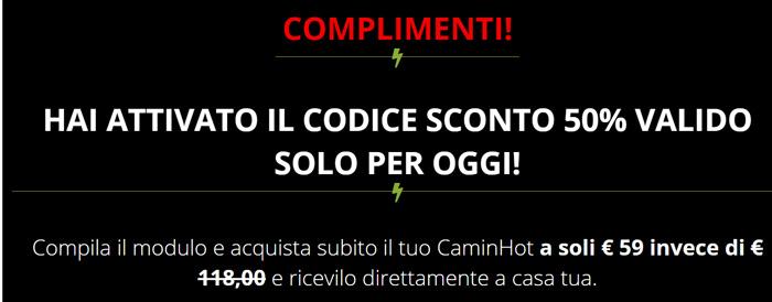 Prezzo di CaminHot